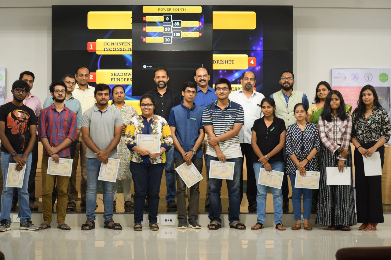 Wipro Earthian Sustainability Quiz'18, Xavier School of Sustainability, Xavier University Bhubaneswar