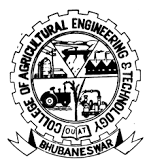 College of Agricultural Engineering And Technology - Bhubaneswar